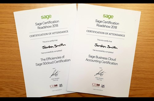 Sage Business Cloud Certified